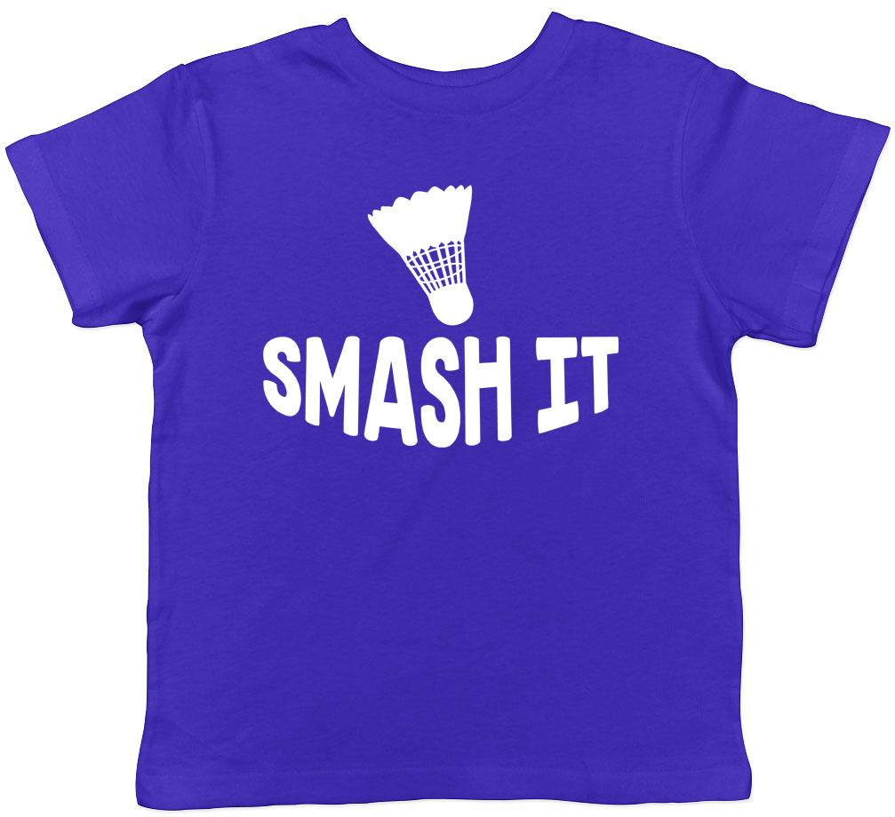 Smash It Badminton Kids Childrens Boys Girls Hooded Top Hoodie
