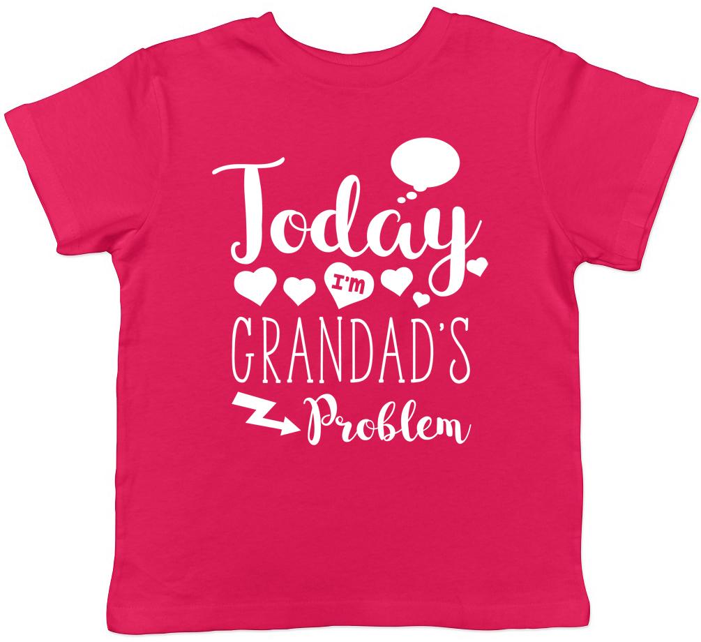 Oggi sono il problema SERAFINO per Bambini T-shirt Ragazzi Ragazze Regalo Di Compleanno T-shirt