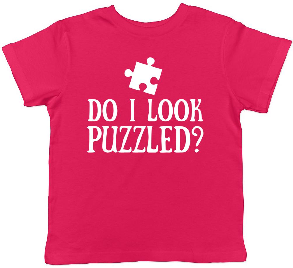 Ragazzi Ragazze Puzzle per bambini Tee T-shirt Ti Sembro Perplesso