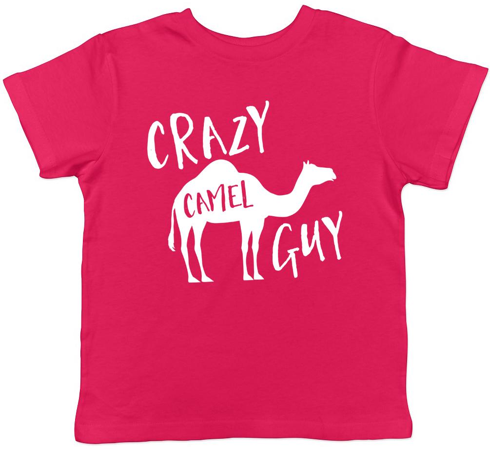 Crazy Camel Guy Childrens Kids T-Shirt