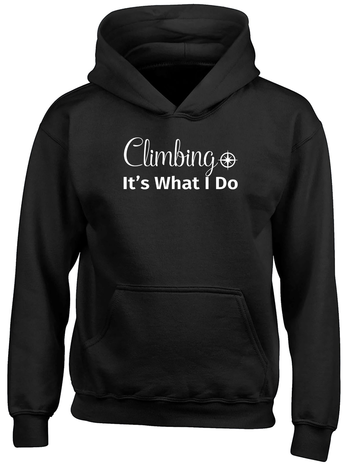 Climbing It's What I Do Childrens Kids Hooded Top Hoodie Boys Girls
