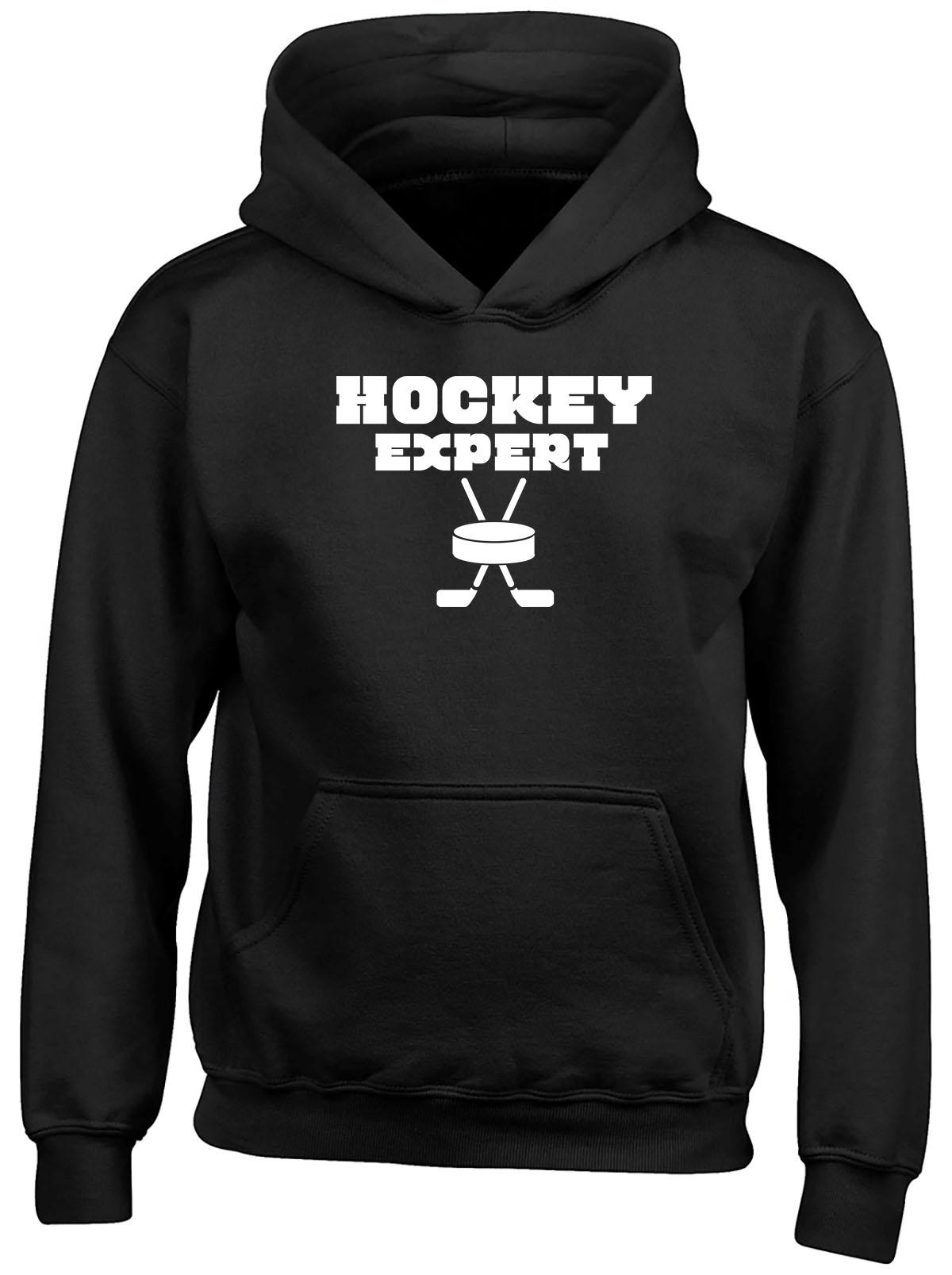 Expert Hockey Childrens Kids Hooded Top Hoodie Boys Girls